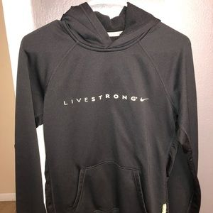 Live strong Nike hoodie